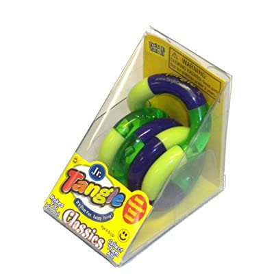 Tangle Jr Original Sensory Fidget Toy - Colors May Vary: Toys & Games