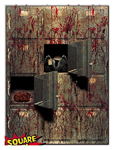 Horror Bloody GIANT MORGUE WALL GORE DECOR Halloween Prop Decoration]()
