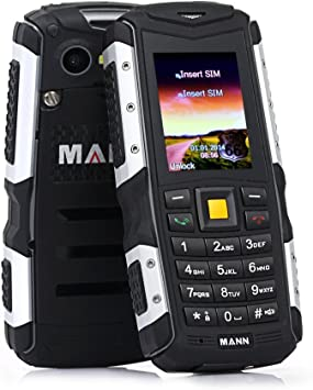 MANN ZUG S IP67 Rugged Smartphone libre, 2.0 Impermeable ...