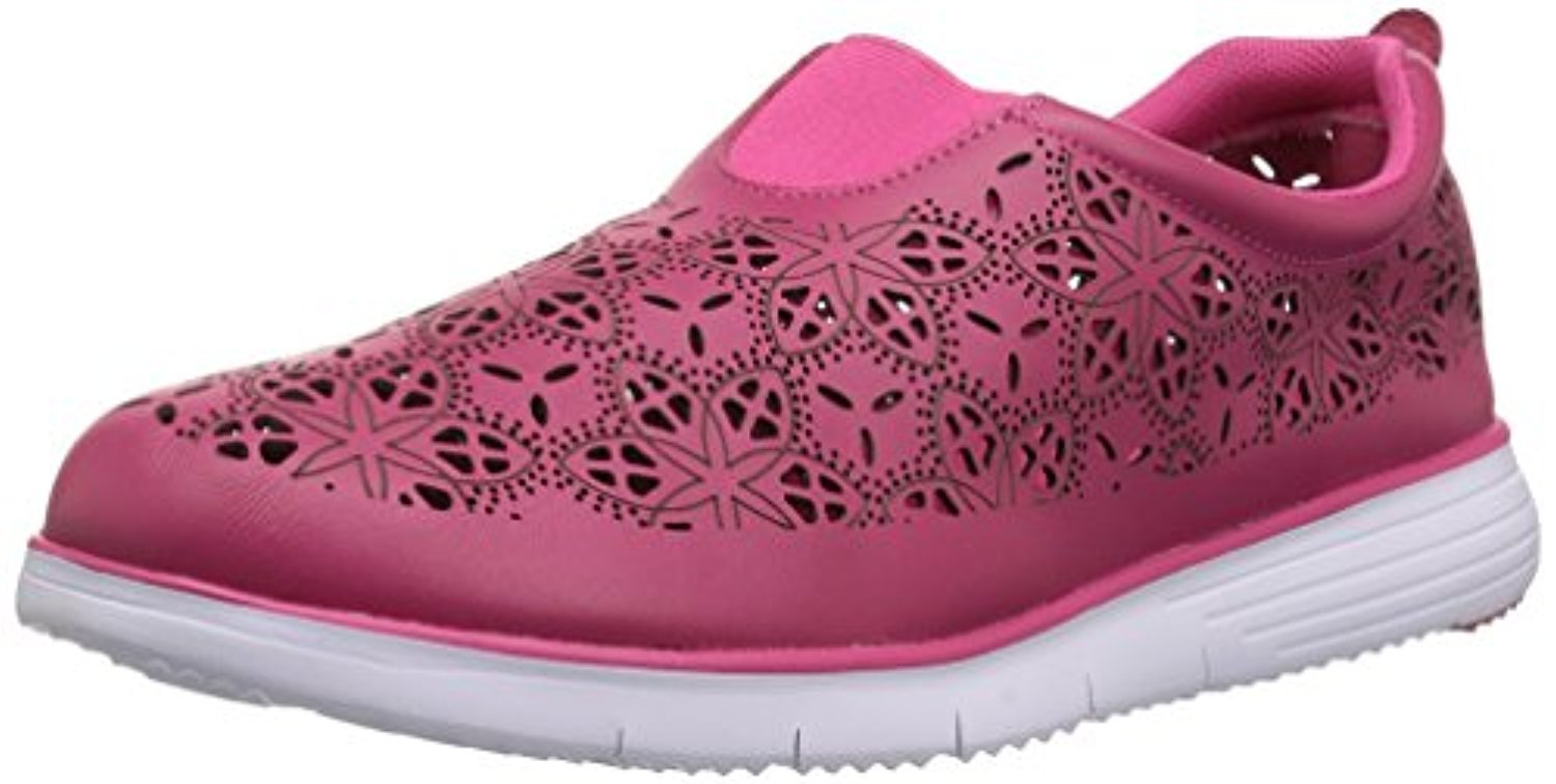 Propet Women's Hannah Sneakers Berry 10 E (XX-Wide) & Oxy Cleaner Bundle