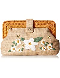 Daisy'D and Confused Flower Clutch Crossbody