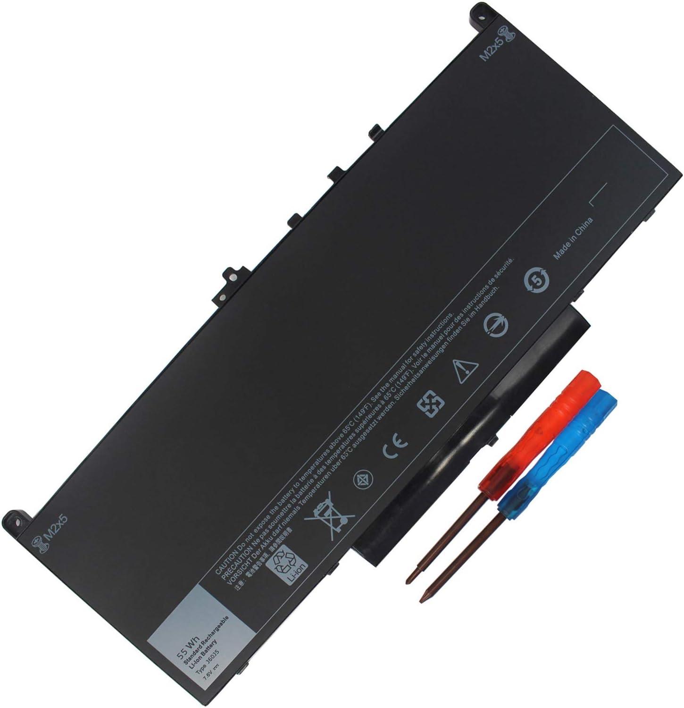 Gomarty J60J5 Laptop Battery Compatible with Dell Latitude E7270 E7470 Series WYWJ2 MC34Y 0MC34Y 1W2Y2 242WD 451-BBSY 451-BBSX PDNM2 R1V85 451-BBSX 451-BBSY 451-BBSU GG4FM