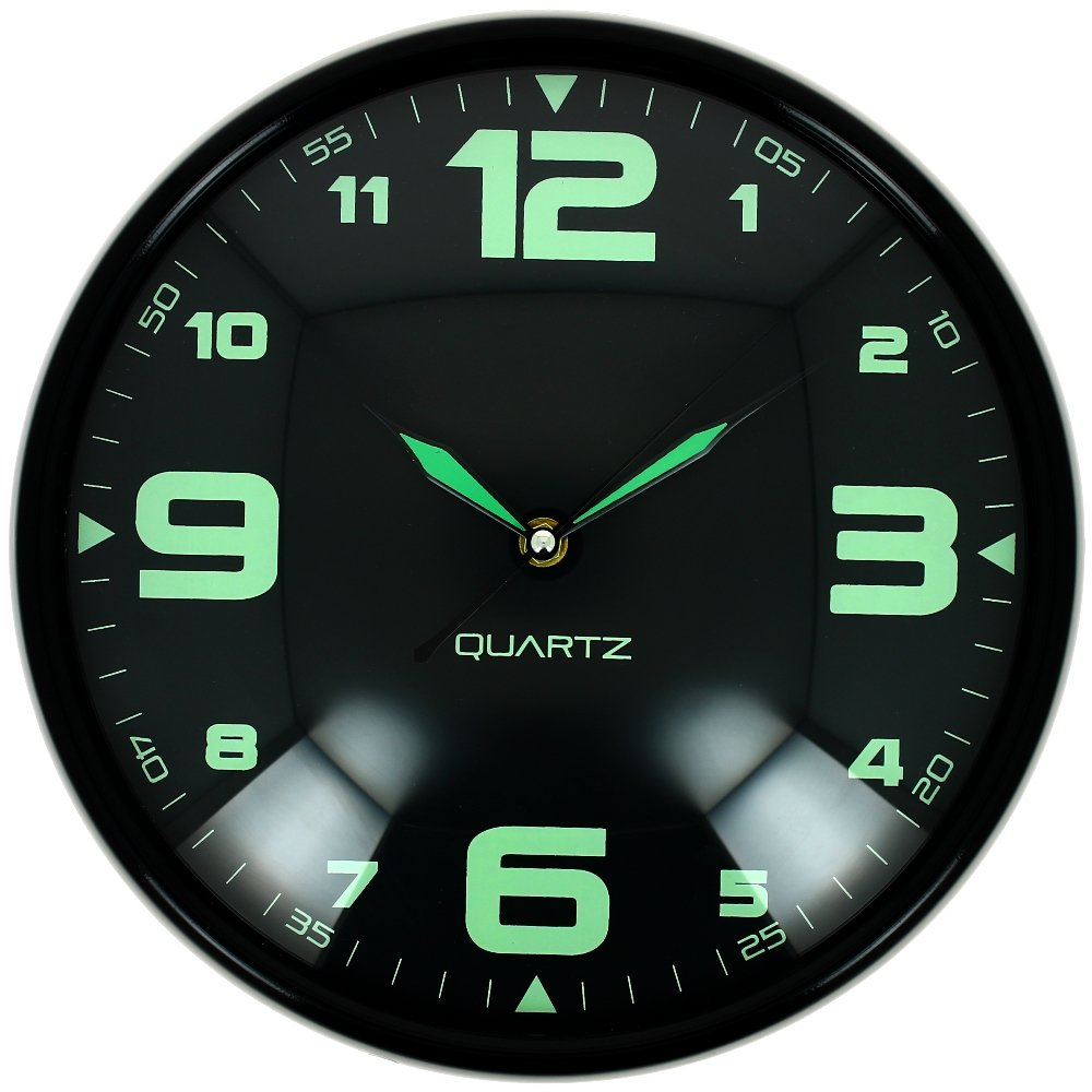 pendule digitale murale free inch wall clock saat clock duvar saati horloge murale relogio de. Black Bedroom Furniture Sets. Home Design Ideas