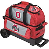 The Ohio State University 2 Ball Roller Bowling Bag ()