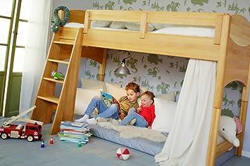 Etagenbett Kinder Massiv : Hochbett für kinder massivholz möbel in goslar