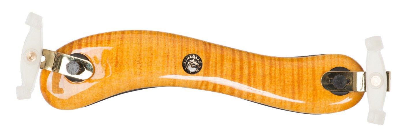 VIVA LA MUSICA 90VAG-LVLM Diamond Shoulder Rest for Viola, Maple Wood, Gold-Plated Metal Fittings