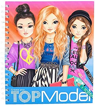 Topmodel Create Your Drawing Book Amazon Co Uk Toys Games