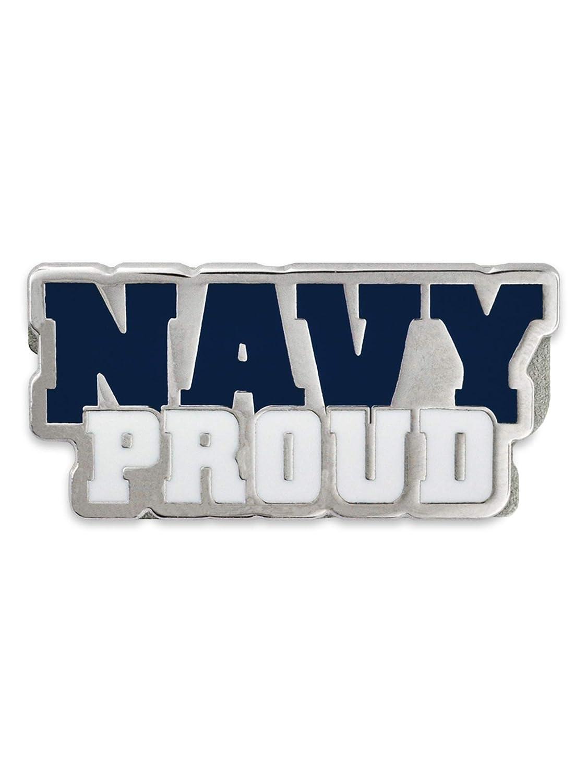 PinMart United States Navy USN Proud Military Enamel Lapel Pin