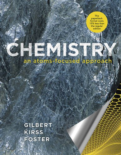 Cheapest copy of Chemistry: An Atoms-Focused Approach by ...
