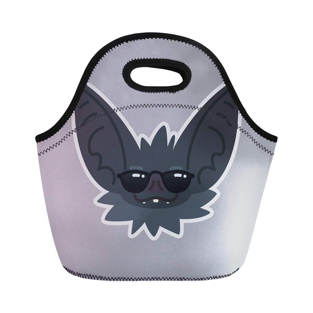 77baa351189d Amazon.com: Semtomn Neoprene Lunch Tote Bag Autumn Halloween Ghosts ...