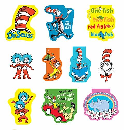 Dr Seuss Bookmark (Raymond Geddes Dr. Seuss Magnetic Bookmark, 50 Pack)
