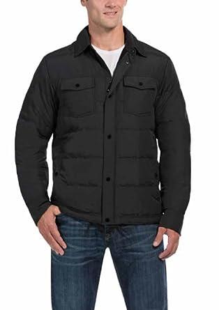 1525fce4e9f Men s Ultra Light Down Shirt Full Zip Jacket at Amazon Men s ...