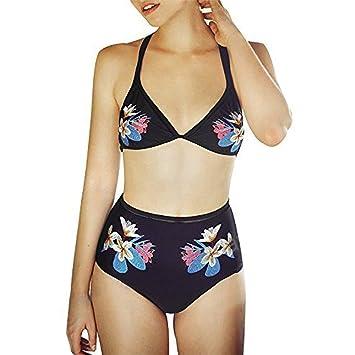 Bikini Set traje de baño Mujeres Bikini de dos piezas ...