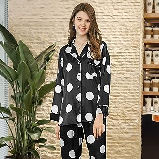 YTNGA Pigiama Pajama SetSummerPajamas Ladies Pajama