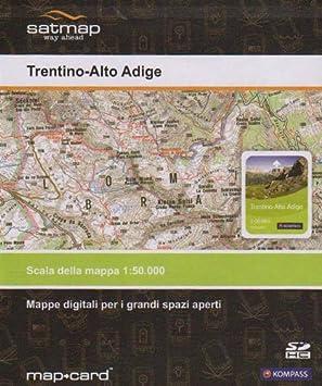 Tirol Italy Map.Satmap Gps Map 1 25000 1 50000 Italy South Tirol Trentino