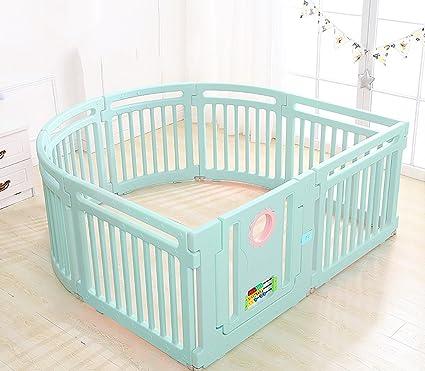 Amazon Com Child Safety Gates 8 Panel Plastic Baby Playpen With