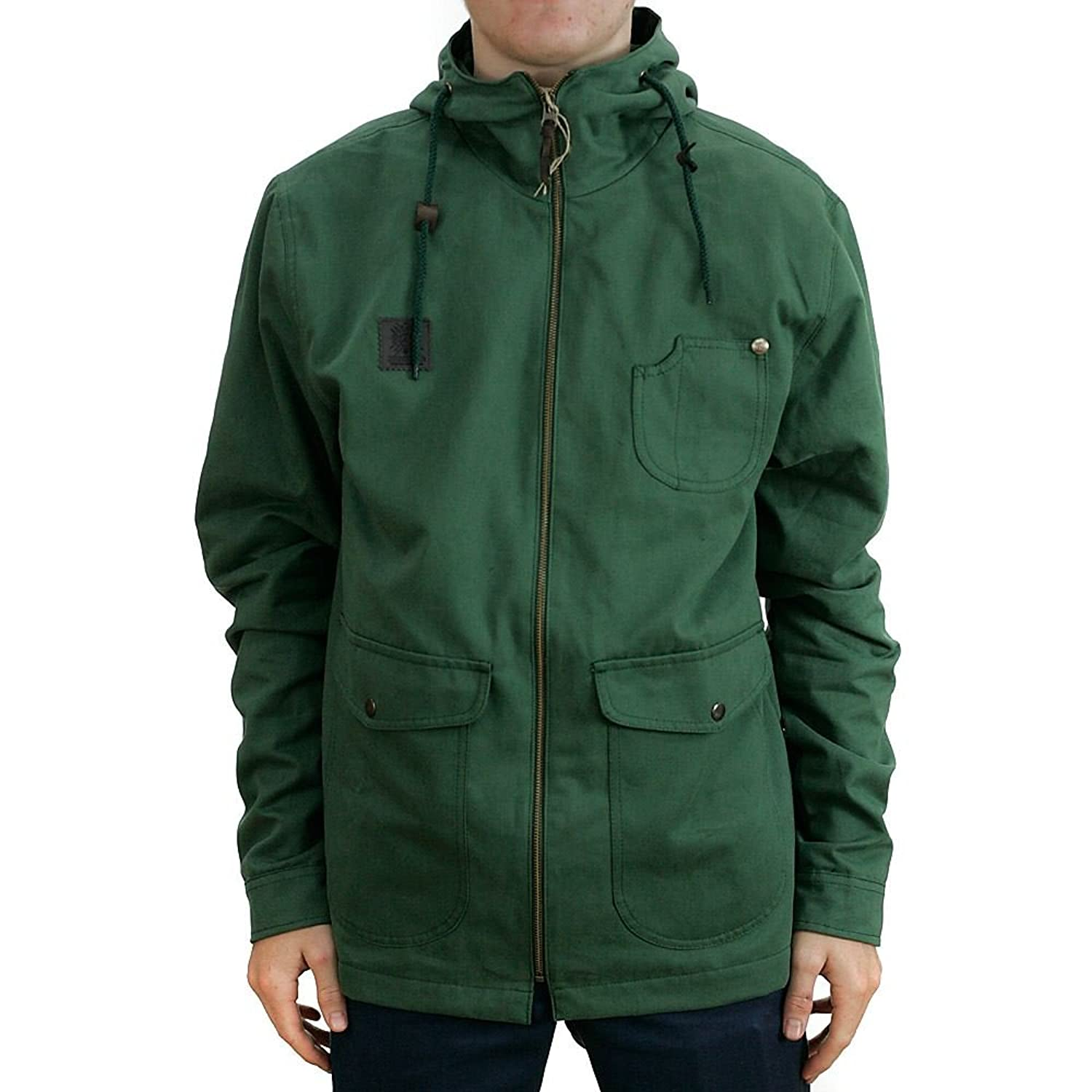 Turbo Kolor Sherman Jacket Olive Coat Fall 2015 Range