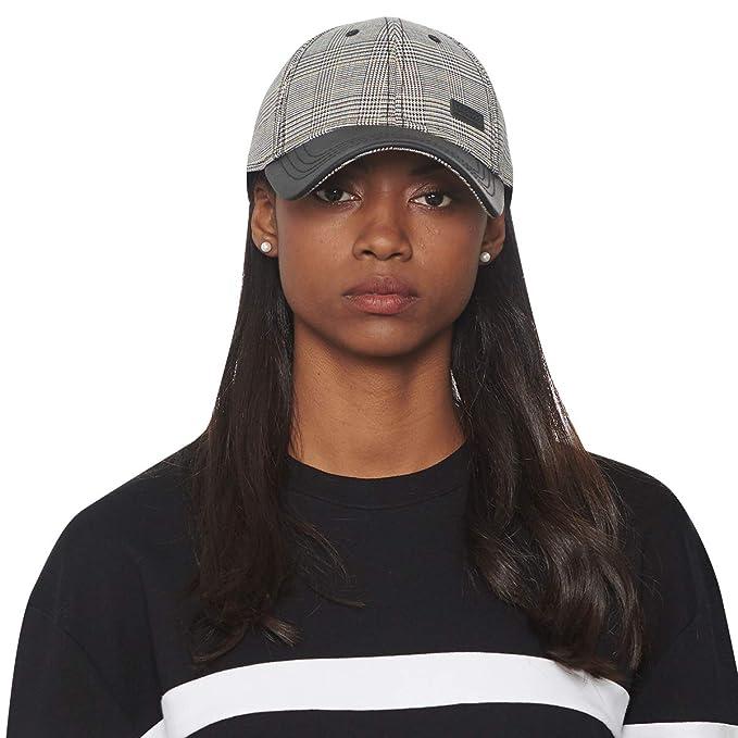 fa9420a86 CACUSS Women's Plaid Classic Baseball Cap Dad Hat Adjustable Comfy Polo  Golf Cap Trucker Cap Fashion Curved Visor Hat