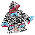 Mud Pie Wild Child Zebra Rain Coat