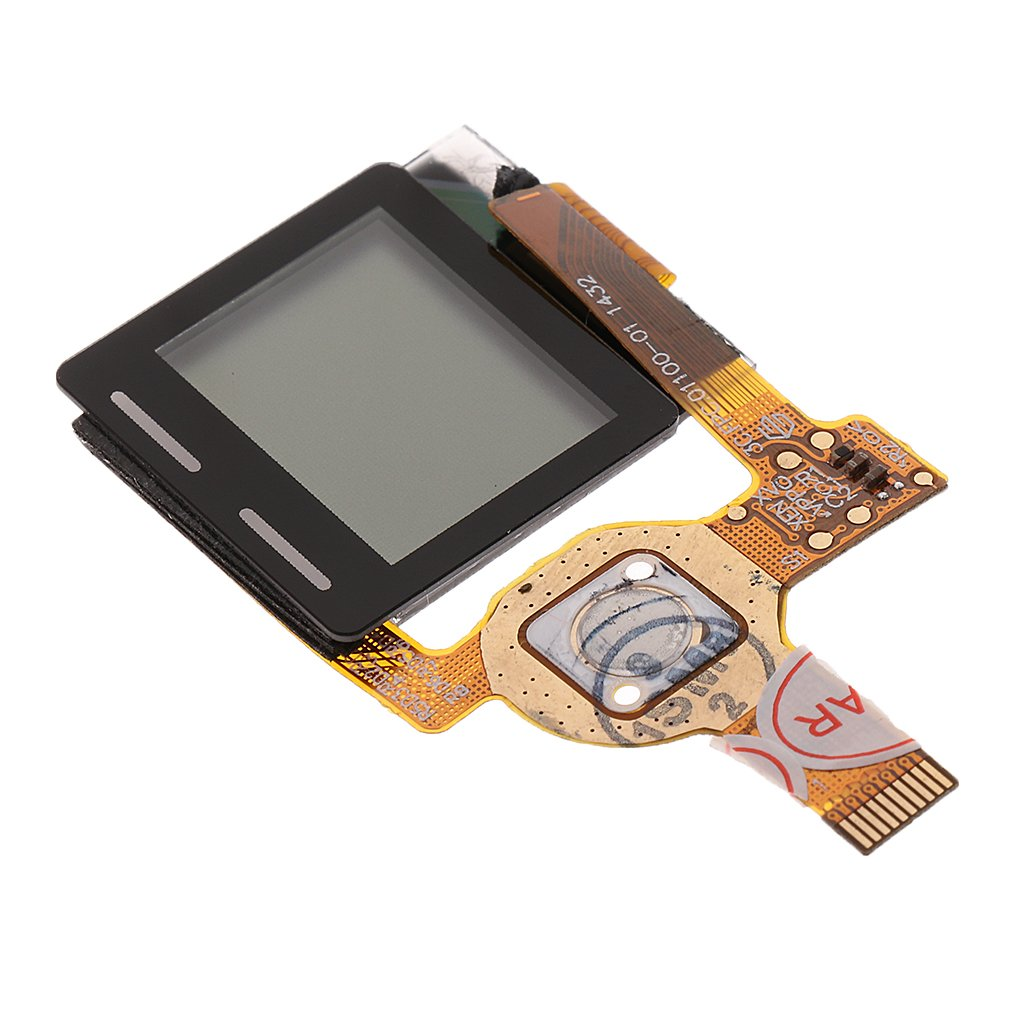 kesoto One Piece Replacement Front LCD Display Screen Assembly Unit for Gopro Hero 4 Video Camera Fuselage Repair Parts