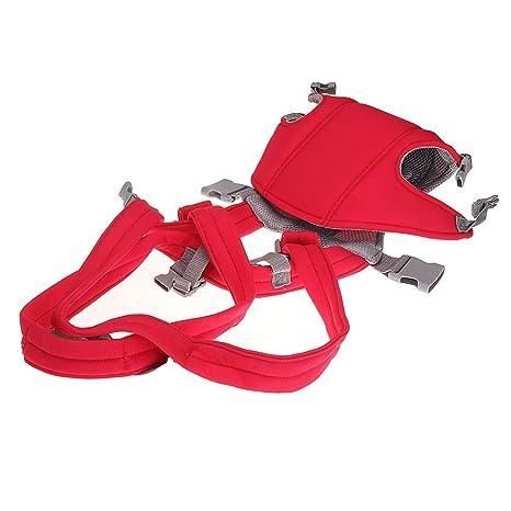 fitTek® Mochila Porta Bebé Color Rojo Arnes para Bebés de 0 a 18 ...