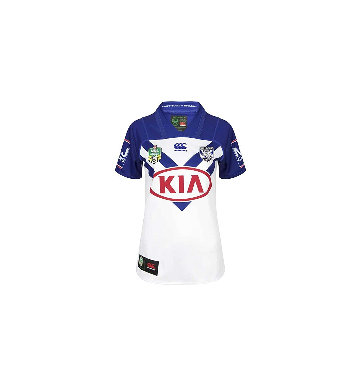 2018 Bankstown Bulldogs Canterbury Replica Home Rugby Jersey B078TPXHP9White XL 46\