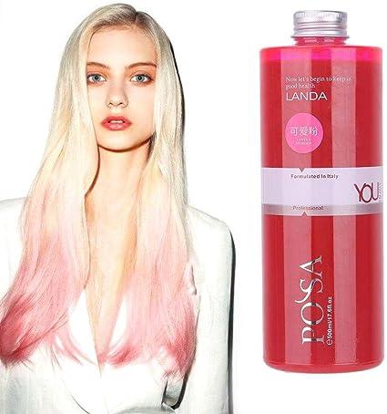 Temporal Pink Hair Wax Unisex Hair Wax Color Tinte Crema ...