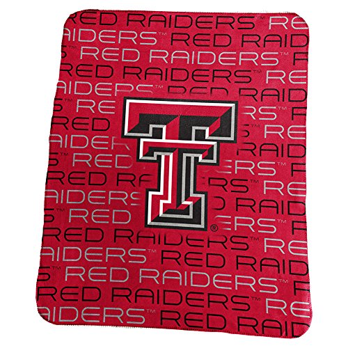 (Texas Tech Red Raiders TTU Fleece Throw Blanket)