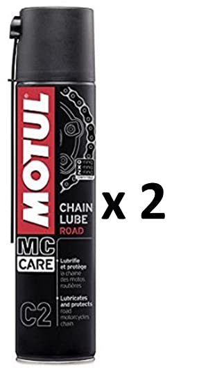 1dcfdb8388aae Amazon.fr : GRAISSE SPRAY LUBRIFIANT CHAINE MOTUL CHAIN LUBE ROAD MC ...