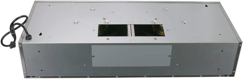 2 LED Lights 30 800 CFM Baffle Filters Leyso Under Cabinet Stainless Steel Range Hood Digital 3-Speed Control