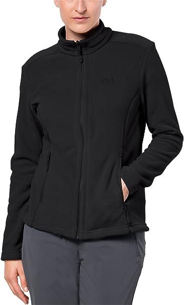Jack Wolfskin Women Moonrise Jacket Black Fleecejacke