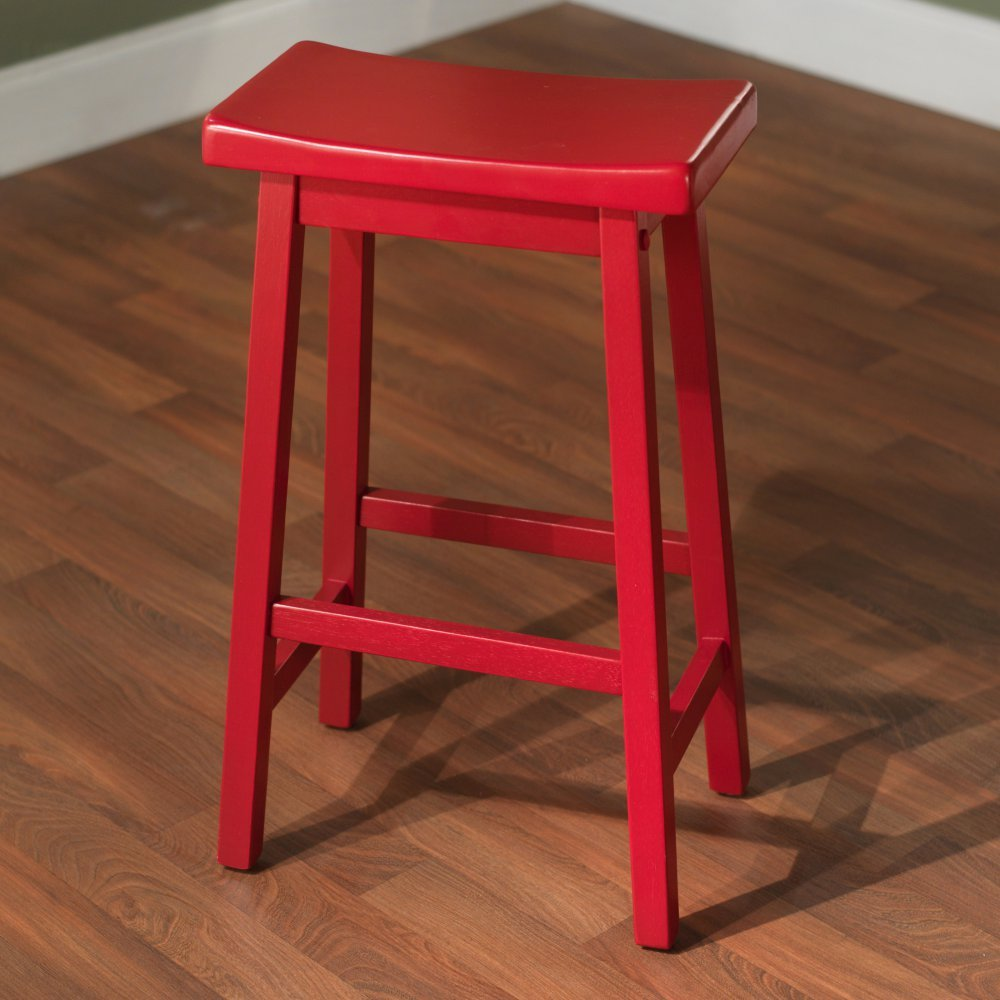Amazon.com Target Marketing Systems 30-Inch Arizona Wooden Saddle Stool Red Kitchen u0026 Dining & Amazon.com: Target Marketing Systems 30-Inch Arizona Wooden Saddle ... islam-shia.org