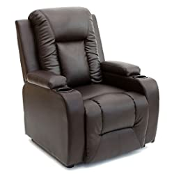 More4Homes OSCAR BONDED LEATHER RECLINER