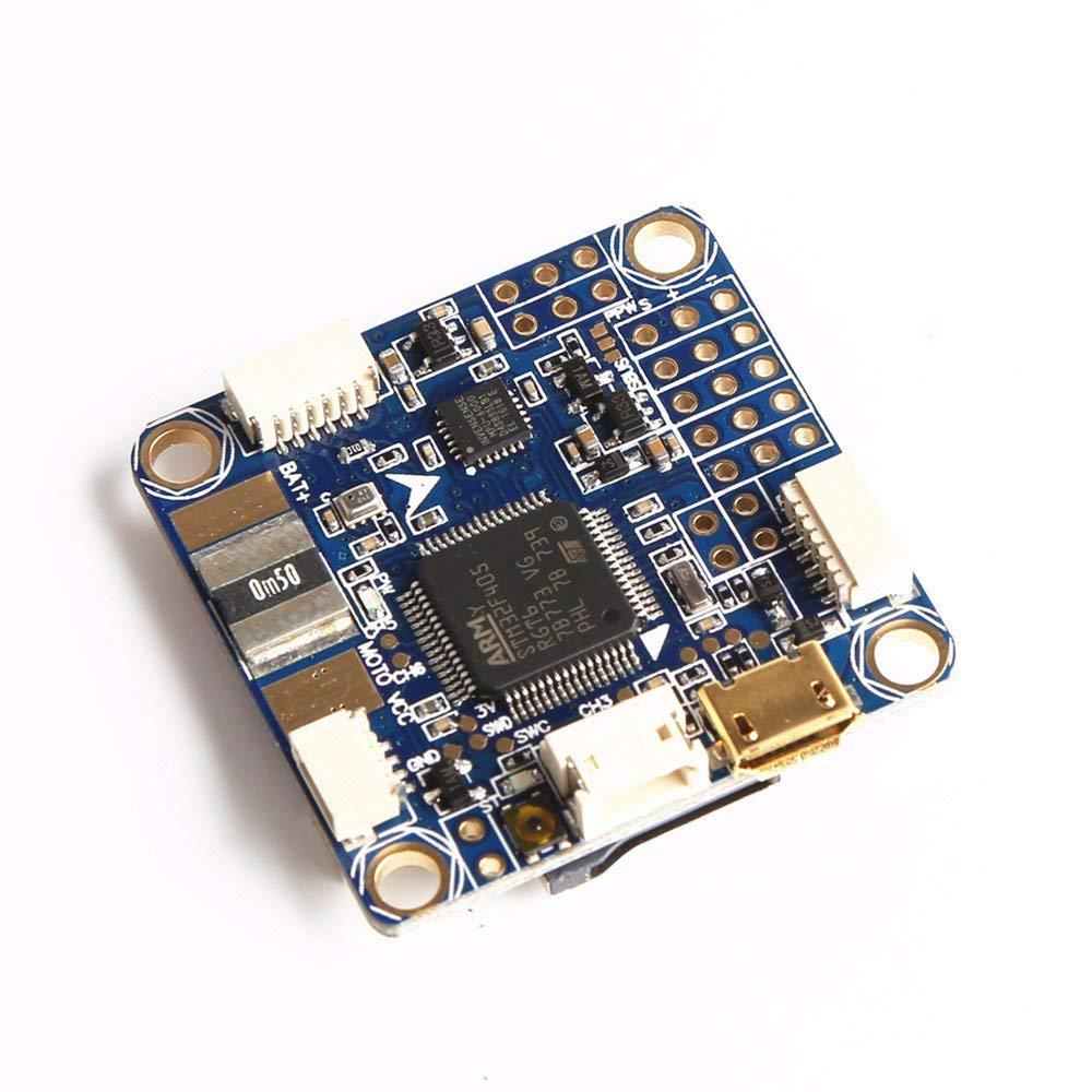 Erduo Betaflight Omnibus STM32F4 F4 Pro V3 Flight Controller Eingebautes OSD Blau