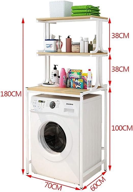 Rttzw Washing Machine Shelf Iron Shelf Washing Machine Rack