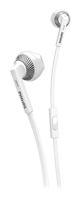 260 opinioni per Philips SHE3205WT/00 Cuffie Auricolari con Microfono, Bianco