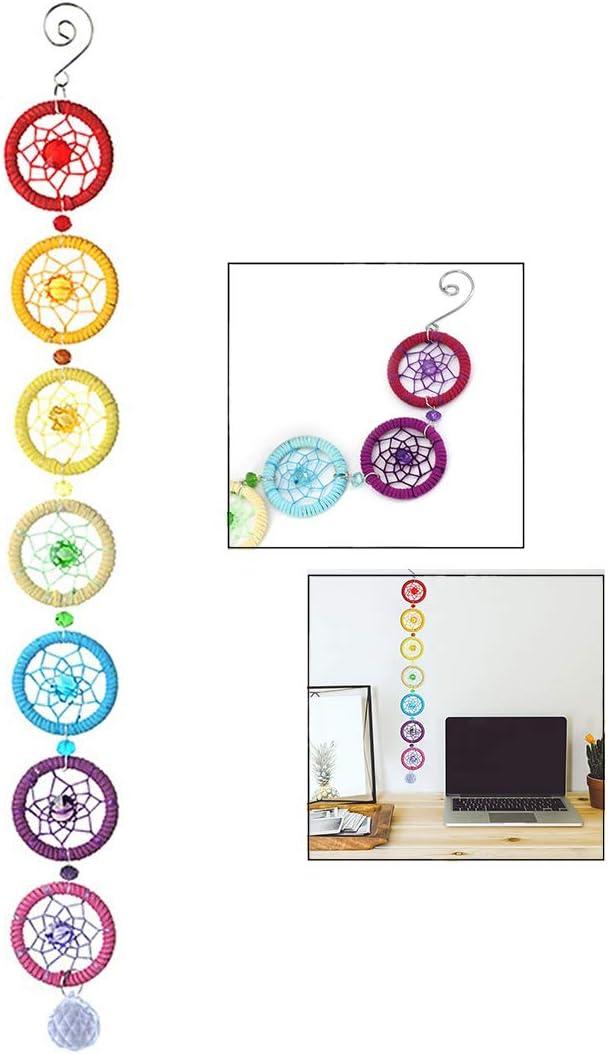 iPobie Chakra Octogonal Color Correcto con Chakra Decoración Colgante de Pared Decoración del hogar