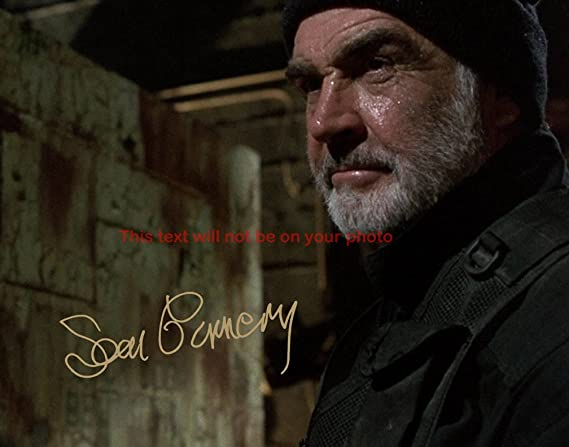 Sean Connery The Rock Autographed 11x14 Poster Photo At Amazon S Entertainment Collectibles Store