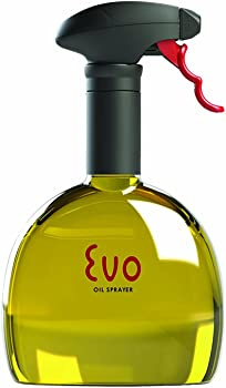 Evo Oil Sprayer Bottle for Olive Oil and Cooking Oils