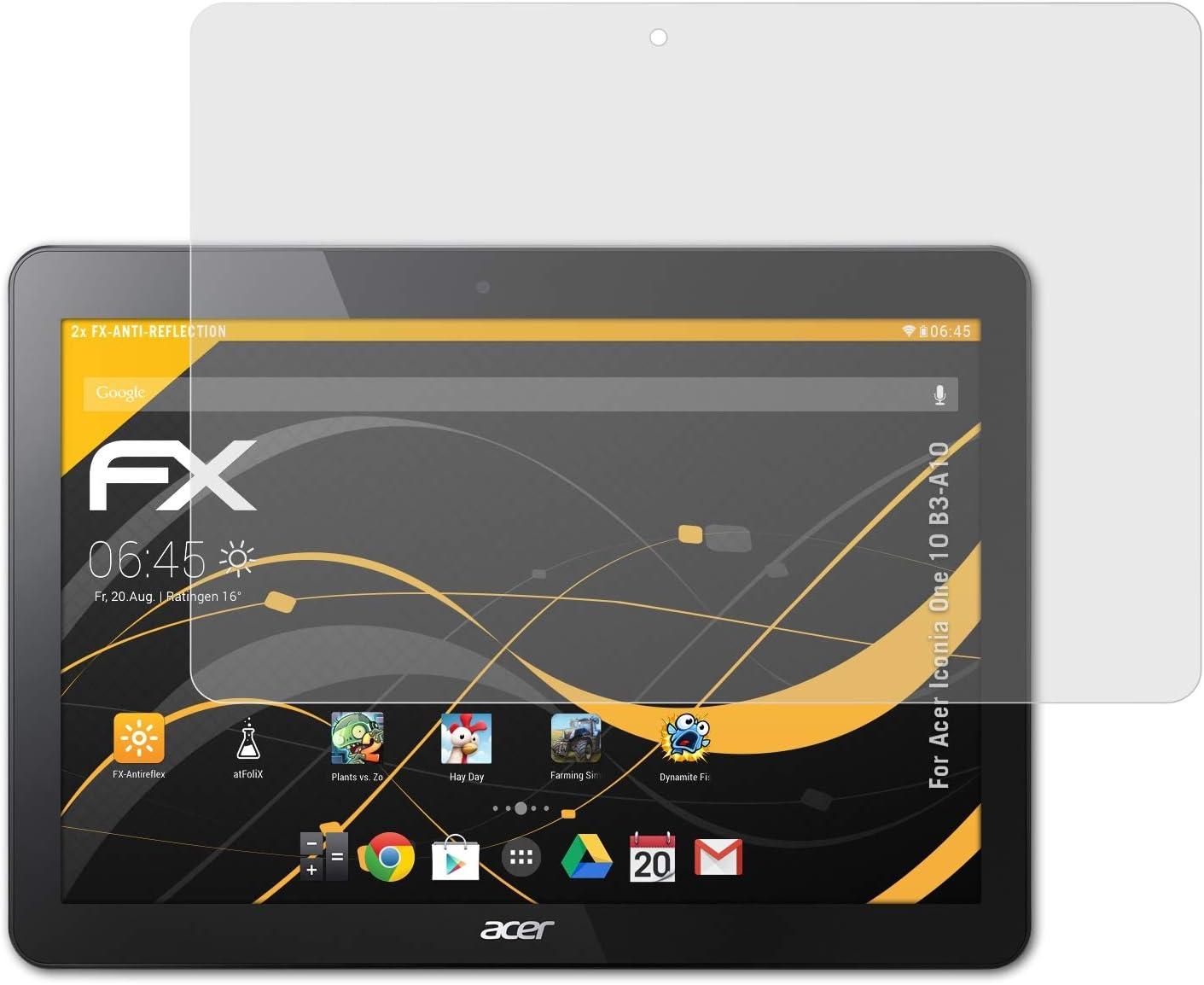 Atfolix Panzerfolie Kompatibel Mit Acer Iconia One 10 Computer Zubehör