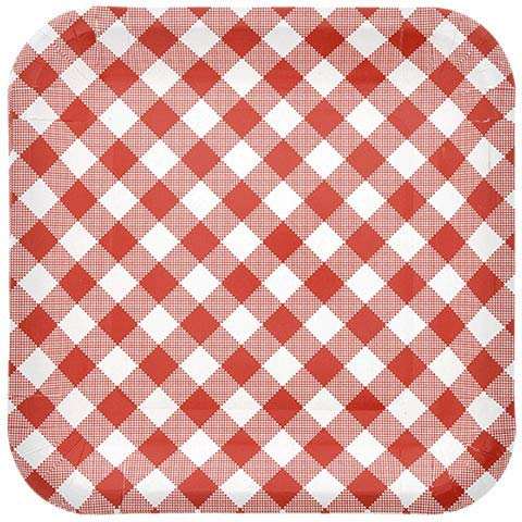 Red and White Gingham 9