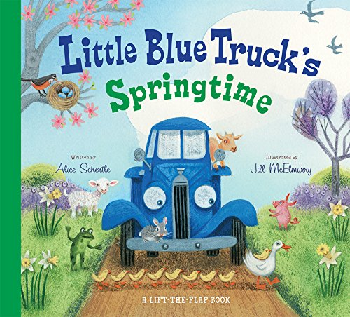 One Christian Toddler Shirt - Little Blue Truck's Springtime