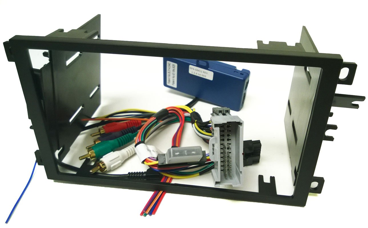Double Din Dash Kit Wire Harness Steering Wheel 2005 Chevy Venture Wiring Controls And Antenna Adapter For Installing A New Radio Into Chevrolet Avalanche