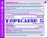 TOPICAINE 5% 1 Oz (30 g) Topical Anesthetic Gel with Lidocaine 5%