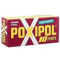 Adesivo Transparente 10 Minutos 82g-POXIPOL-521256