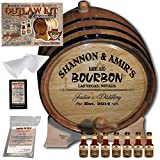 Personalized Outlaw Kit (Tennessee Bourbon) From American Oak Barrel - Design 062: Barrel Aged Bourbon (5 Liter)