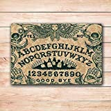 Doormats Ouija Board Art Door Mat Rugs 18X30 Inchs Inside Rectangle Rugs 18X30 Inch