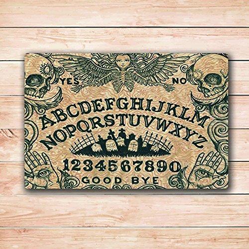 Doormats Ouija Board Art Door Mat Rugs 18X30 Inchs Inside Re