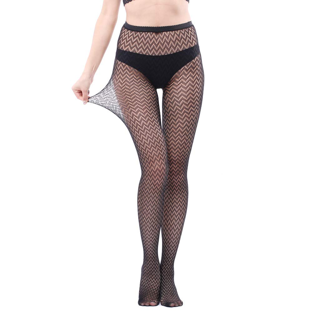 Zainafacai/_lingerie Women Fishnet Stockings,High Waisted Fishnets Tights for Dancing Party Tights Pantyhose