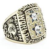 HTEGAE Tide Men's 1977 Dallas Cowboys Championship Rings,Size 13